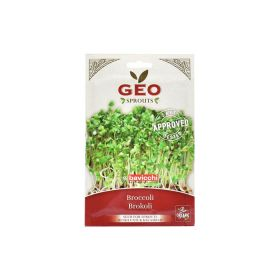 Organic Broccoli Cabbage Sprout Seed Geo 13 g