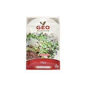 Organic Flax Sprout Seed Geo 80 g