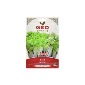 Organic Basil Sprout Seed Geo 6 g