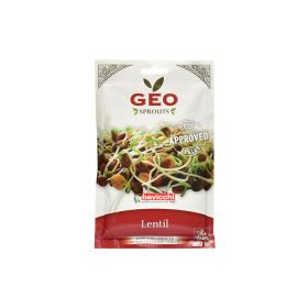 Organic Lentil Sprout Seed Geo 90 g