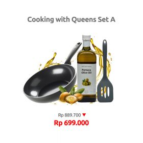 COOKING WITH QUEENS SET A