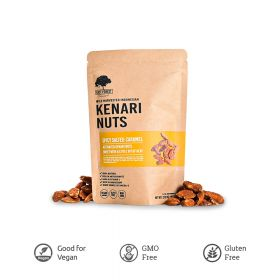 Kenari Nuts Spicy Salted Caramel East Forest 80 Gr