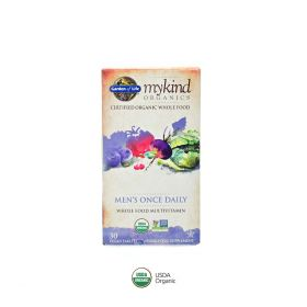 Mykind Organics Mens Once Daily Garden of Life 30 Tabs