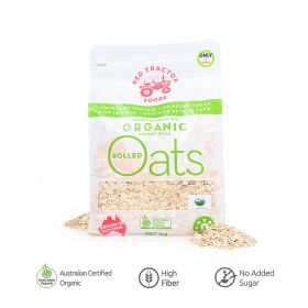 Organic Rolled Oats Red Tractor 1 Kg
