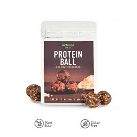 Protein Ball Coconut Cranberry 70g