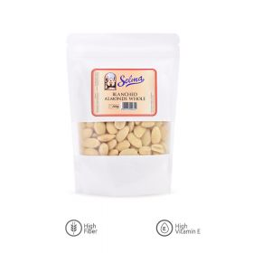 SELMA BLANCHED ALMONDS WHOLE 200G