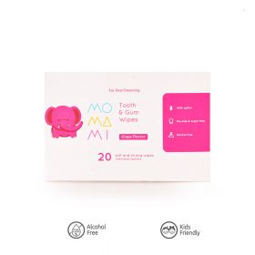 Tooth & Gum Wipes Momami 20's